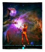 Nude Amongst The Stars 3... Fleece Blanket