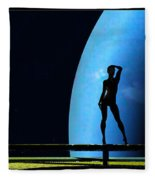 Nude Amongst The Stars... Fleece Blanket
