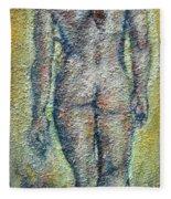 Nude Brunet Fleece Blanket