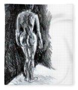 Nude  Fleece Blanket