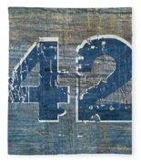 Number 42 Fleece Blanket