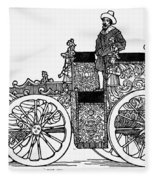Nuremberg Carriage, 1649 Fleece Blanket
