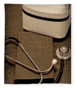 Nurse - The Care Giver Fleece Blanket