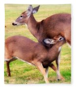 Nurturing Nature Fleece Blanket