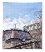Nuruosmaniye Mosque 02 Fleece Blanket