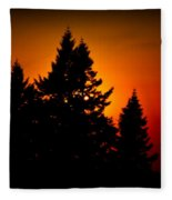 Nw Evening L Fleece Blanket