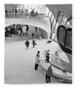 Nyc Airport, 1965 Fleece Blanket