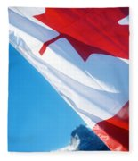 O Canada Fleece Blanket