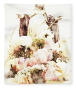 O Divine Mercy Fleece Blanket