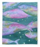 Oahu Tiny Bubbles Fleece Blanket