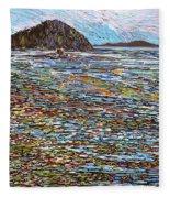 Oak Bay - Low Tide Fleece Blanket