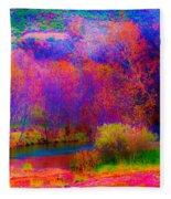 Oak Creek Acid 2 Fleece Blanket