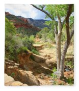 Over Slide Rock Fleece Blanket