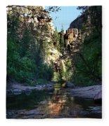 Oak Creek Canyon Fleece Blanket