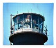 Oak Island Lighthouse Beacon Lights Fleece Blanket