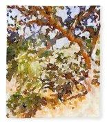 Oak Fleece Blanket