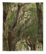 Oaks Of Georgia Fleece Blanket