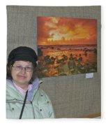 Oakwood Exhibit 2 Fleece Blanket