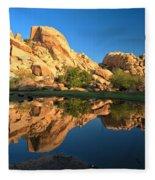 Oasis Reflections Fleece Blanket