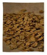 Oatmeal For Breakfast Fleece Blanket