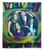 Obama Family Victory Fleece Blanket