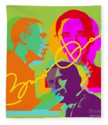 Obama Fleece Blanket