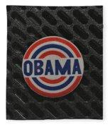 Obama Fleece Blanket