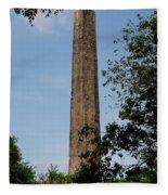 Obelisk - Central Park Nyc Fleece Blanket