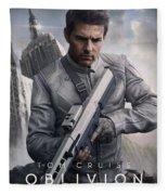 Oblivion Tom Cruise Fleece Blanket