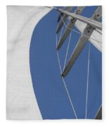 Obsession Sails 9 Fleece Blanket