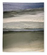 Ocean At Low Tide Fleece Blanket