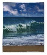 Ocean Blue Morning 2 Fleece Blanket