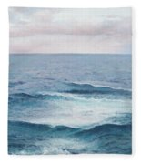 Ocean By Jan Matson Fleece Blanket