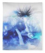 Ocean Floor Abstract Fleece Blanket