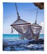Ocean Front Hammock Fleece Blanket