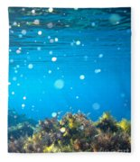Ocean Garden Fleece Blanket
