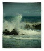Ocean Impact - Jersey Shore Fleece Blanket