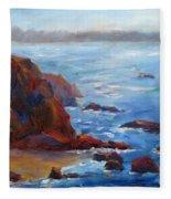 Ocean Light Fleece Blanket