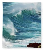 Ocean Majesty Fleece Blanket