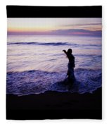 Ocean Mermaid Fleece Blanket
