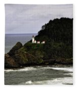 Ocean Photography Fleece Blanket