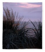 Ocean Side  Fleece Blanket