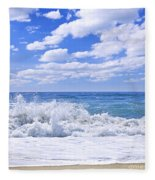 Ocean Surf Fleece Blanket