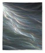 Ocean Swell Fractal Fleece Blanket