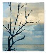 Ocean Tree Fleece Blanket
