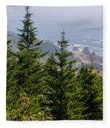 Ocean Vista Fleece Blanket