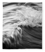 Ocean Wave IIi Fleece Blanket