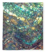 Ocean Waves 005 Fleece Blanket