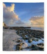 Oceanfront Fleece Blanket