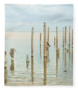 Oceanic Tranquility 2 Fleece Blanket